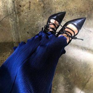 "3.1 PHILLIP LIM ""Martini"" lace up pump high heels"